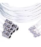 Frettes préconnectorisées RJ45 mâle / Noyau femelle