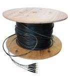 Fibre préconnectorisée OM3 4 brins multimode