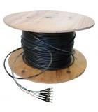 Fibre préconnectorisée OM1 12 brins  multimode